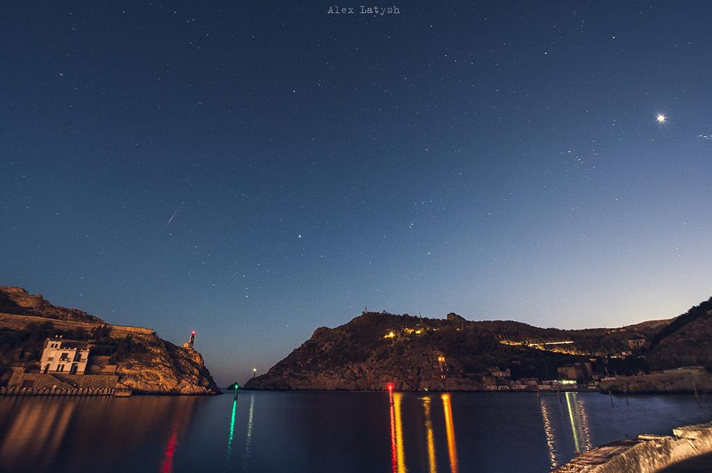 Звездная ночь в Балаклаве
