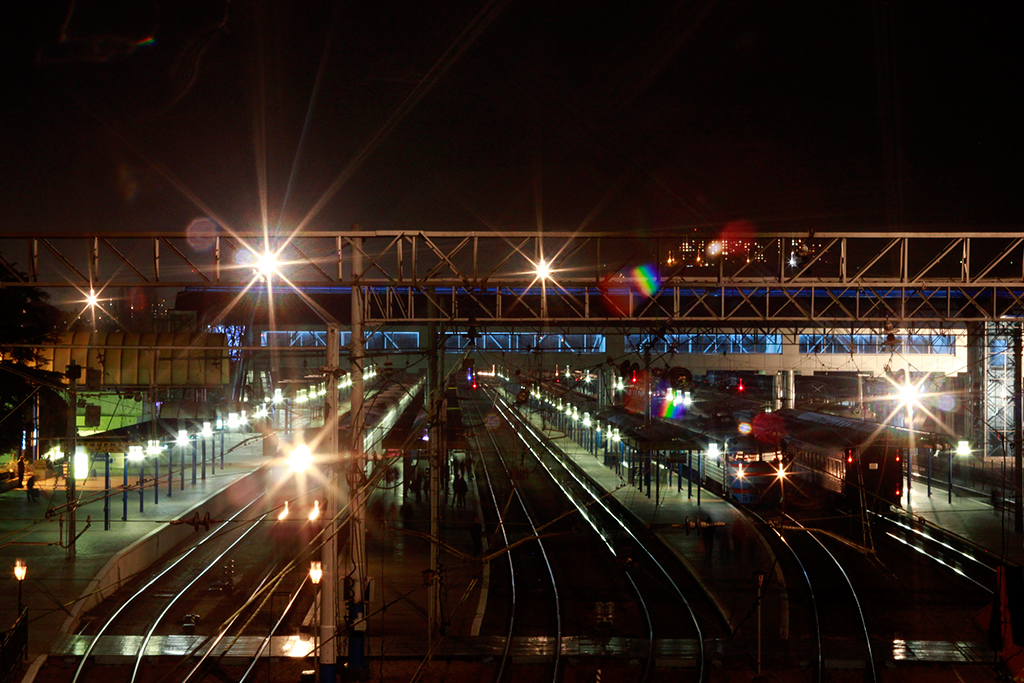 Вечерний вокзал