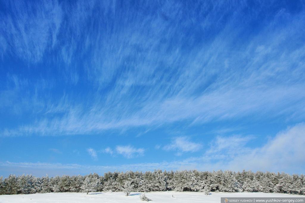 Зима на плато Ай-Петри