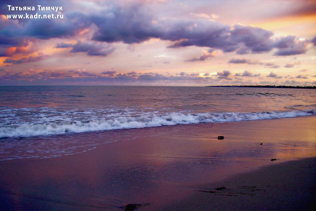 Евпаторийское море. Закат