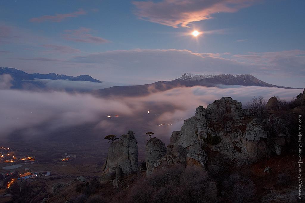 Восход на Демерджи