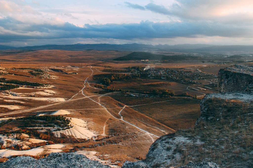 Вид с белой горы