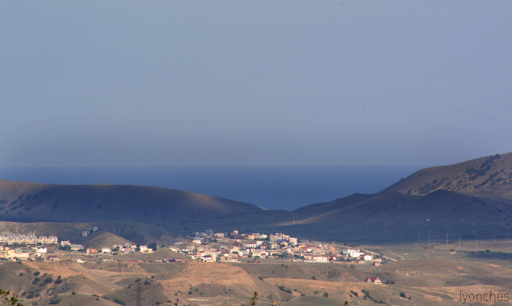 Горы города Судака