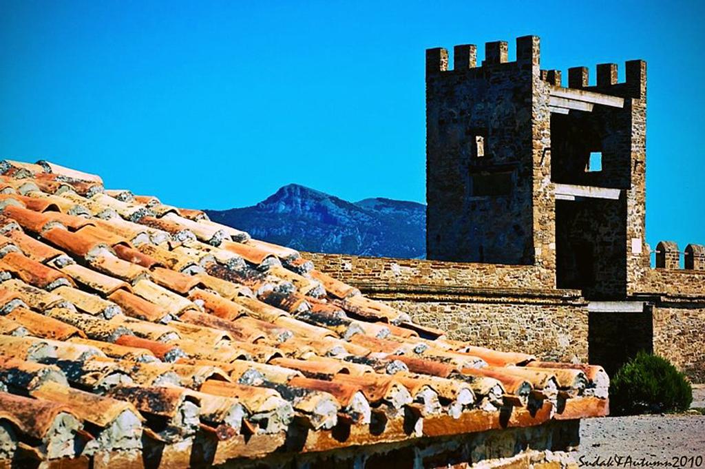Башня на крепости