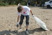 Акция «Чистый берег» набирает обороты
