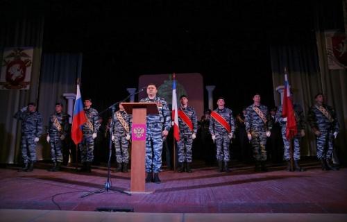 В Симферополе «Беркут» отпраздновал 25-летие со дня образования