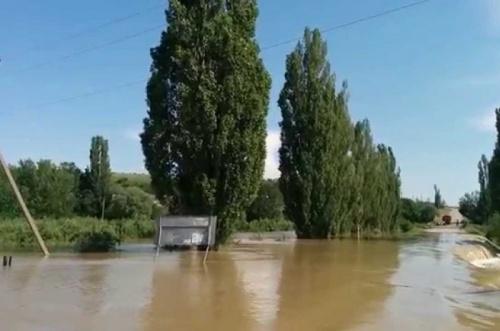 МЧС предупредило о подъёме уровня воды в крымских реках