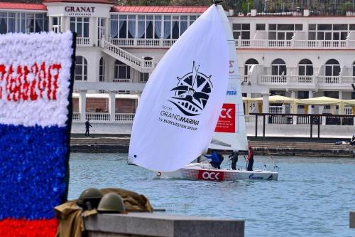 В Севастополе стартовали соревнования II этапа Национальной парусной Лиги