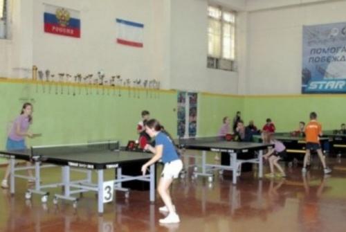 В Ялте пройдут заключительные туры Детской лиги по настольному теннису