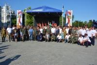 В Евпатории наградили членов народного ополчения