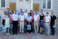 В Евпатории гостит делегация из Крымска