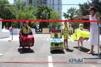 Компания «Владоград» подарила Симферополю современный детский автогородок в парке Шевченко