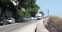 Красный спуск в Севастополе превратили в парковку