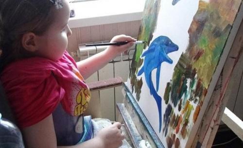 Выставка 8-летней художницы откроется в музее обороны Севастополя