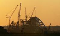 Из-за установки арок Крымского моста фарватер могут закрыть на трое суток