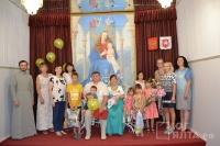 В Ялте чествовали многодетную семью с рождением 14 ребенка