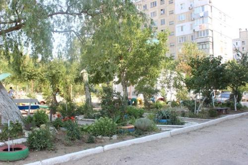 В Керчи определили самый благоустроенный двор