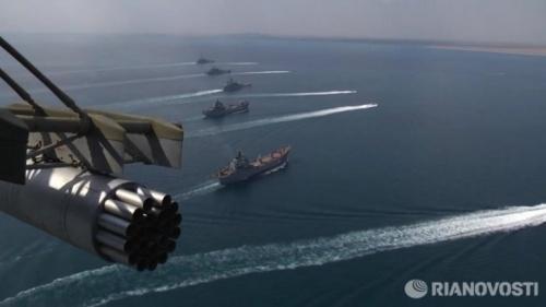 В Крыму прошли комплексные учения ЧФ