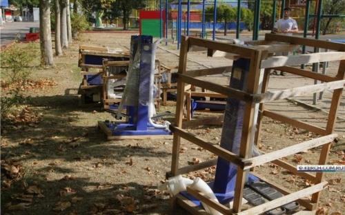 На набережной Керчи появятся новые тренажеры