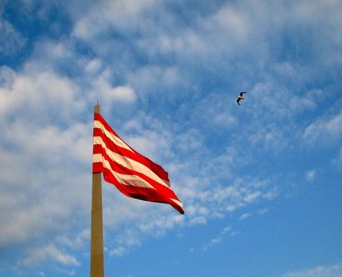 В Керчи сменят флаги