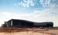 """Строители завершили монтаж кровли нового терминала аэропорта """"Симферополь"""""""