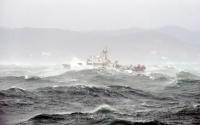 На керченской переправе прогнозируют шторм