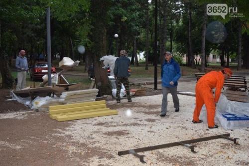 В Детском парке Симферополя появятся новые аттракционы для малышей