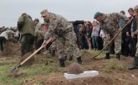 В Крыму состоялось перезахоронение останков солдат ВОВ