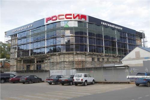 В Керчи готовится к открытию новый торговый центр