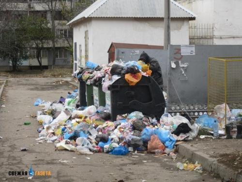 Симферополь признали одним из самых грязных городов России