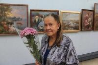 В Ялте открылась юбилейная выставка творческих работ Зебек Нелли Петровны
