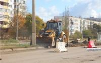 В Керчи началась подготовка к капремонту улицы Буденного