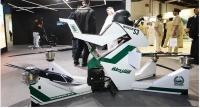 Первый летающий мотоцикл для полиции испытали в Дубае