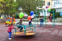 В Евпатории открыли первый двор с комплексным благоустройством