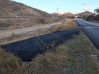 Активисты ОНФ в Крыму обратились в прокуратуру по вопросу сомнительного ремонта дороги в районе Феодосии