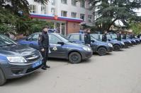 В Ялте сотрудники Росгвардии получили новые патрульные автомобили