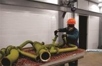 На заводе «Залив» модернизирован малярный участок в трубомедницком цехе