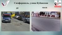 В Симферополе за текущий год в рамках проекта ОНФ отремонтировали 51 участок дорог