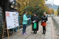 В Ялте состоялась информационная акция, посвященная Международному дню инвалида