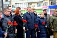 В Евпатории открыли реконструированный сквер памяти воинам-интернационалистам