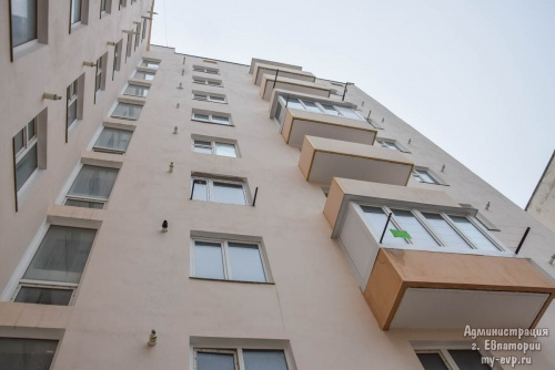 К новому году трое евпаторийцев получат новые квартиры