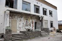 В Евпатории приступили к реконструкции бывшего детского сада «Золотая рыбка»