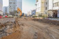 Внутриквартальные проезды строят в восьмом микрорайоне Евпатории