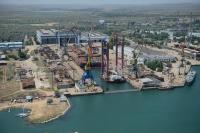 Керченский завод «Залив» отремонтировал за год два десятка судов