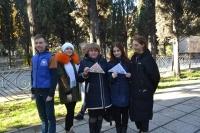 В Ялте провели акцию в честь Дня Героев Отечества
