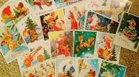 В Евпатории представят уличную выставку старинных новогодних и рождественских открыток