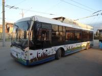 Севастопольские троллейбусы научат жителей города беречь природу