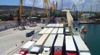 Через Керченский пролив в 2017 году перевезли на 6,4% больше фур