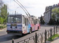 В Керчи временно не ходит троллейбус от Гагаринского кольца до завода Войкова