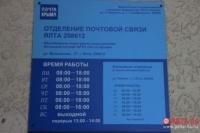 В Ялте в прошлом году отремонтировали 12-е почтовое отделение
